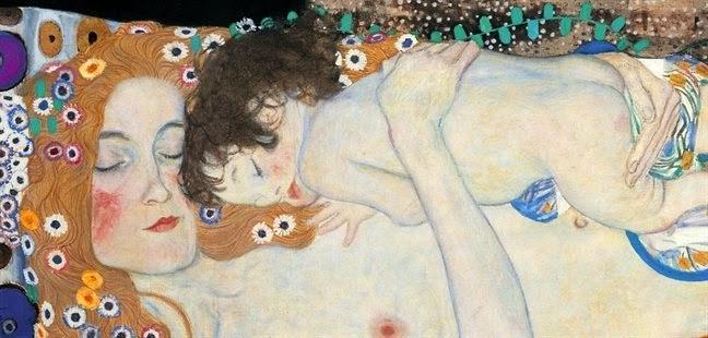 Risultati immagini per immagini importanti una mamma col suo piccolo sul seno klimt