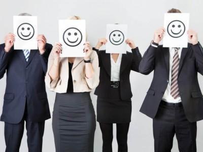 genitori felici al lavoro